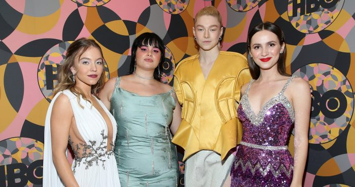 The Cast Of Euphoria Partied Together